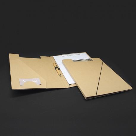 Klemmmappen in Karton-Optik DIN A4 für den Büro
