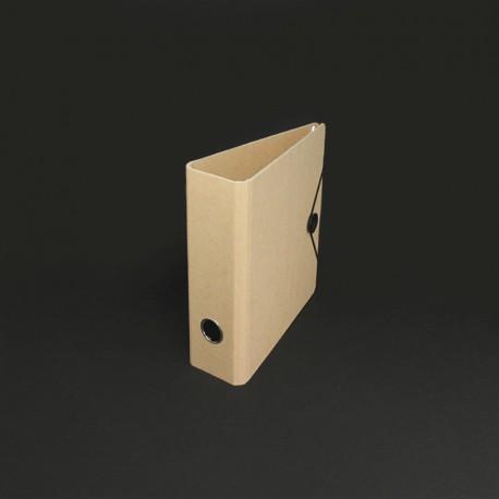 Ordner in Karton-Optik DIN A5 Verschluss-Scheibe für den Büro