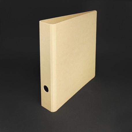 Ordner oder Ringordner in Karton-Optik. Eine Auswahl an umweltfreundlichen Ordner zum Sortieren und Ordner von Dokumenten in DIN A4 oder DIN A5.