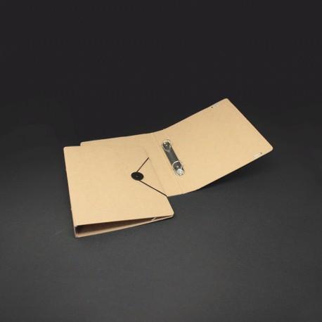 Ringordner oder Ordner in Karton-Optik, DIN A5 mit Verschluss-Scheibe für den Büro