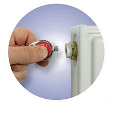 Schlüssel-anhänger-Lufty, Schlüssel-anhänger Heizungentlüftungsschlüssel, schlüsselanhänger heizung, lüftungsschlüssel