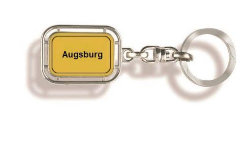 Schlüsselanhänger Augsburg, Schlüsselanhänger Ort, Schlüssel-anhänger.