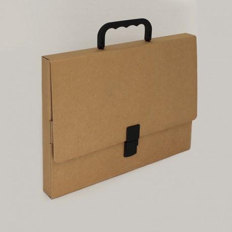 Prospektkoffer aus natur pappe, koffer aus Natur Pappe