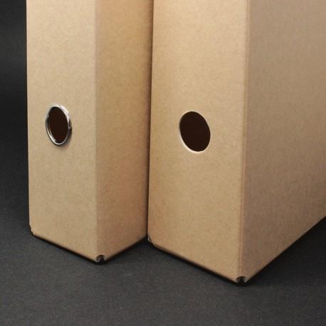 Stehsammler in Karton-Optik für den Büro oder kinder und Werbung.