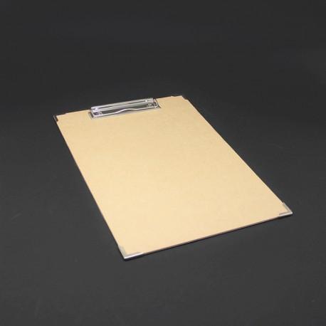Klemmbrett oder Clipboard mit Metallecken, Klemmbretter, Klemmbrett, Clipboard,