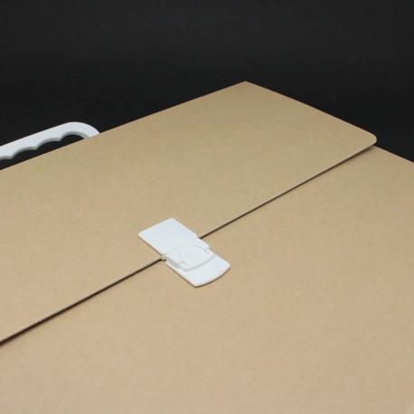 Prospektkoffer DIN-A3, Koffer DIN-A3, prospektkoffer aus karton din-a3, Prospektkoffer für DIN-A3