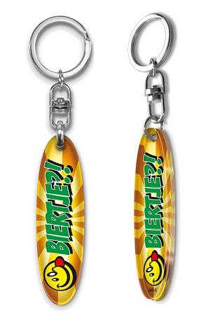 Schlüsselanhänger Surfboard, Schlüsselanhänger Sport, Schlüsselanhänger Plexi-glas.