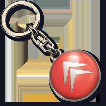 Schlüsselanhänger Citroën, Schlüsselanhänger auto-haus, Metall-Schlüsselanhänger Citroen