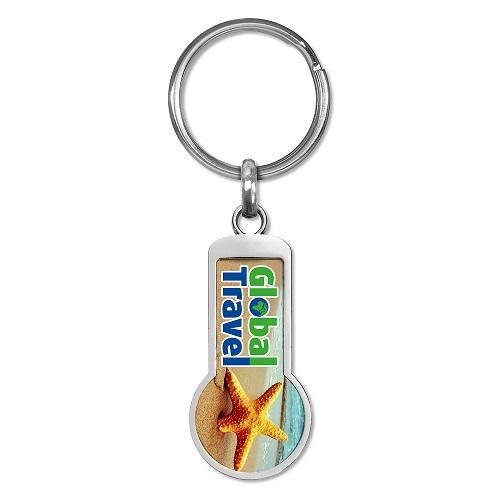 Schlüsselanhänger Einkaufschip Grenada, Schlüsselanhänger Einkaufschip, Schlüsselanhänger, Einkaufschip, Einkaufs-chip, Werbe Schlüsselanhänger,