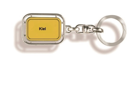 Schlüsselanhänger Kiel, Schluesselanhaenger, Kiel-Schlüsselanhänger, Schlüsselanhänger Orts, Schlüsselanhänger Stadt,