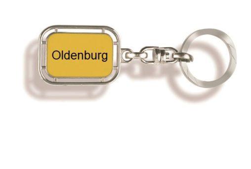 Schlüsselanhänger Oldenburg, Schlüsselanhänger, Werbe Schlüsselanhänger, Oldenburg, Schlüsselanhänger Stadt, Orts Schlüssel-anhänger, Stadt, Orts, Werbung, Werbeartikel, Werbemittel,