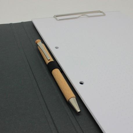 Schreibmappen aus Anthrazit-Karton, schreibmappe pappe, Schreibmappe, Schreibmappen, schreibmappen pappe, Büro-mappen,
