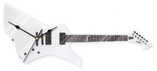 Werbe Wand-uhr Klok Gitarre, Wand-uhr e-Gitarre, Wand-uhr Gitarre, Werbe Wand-uhr,