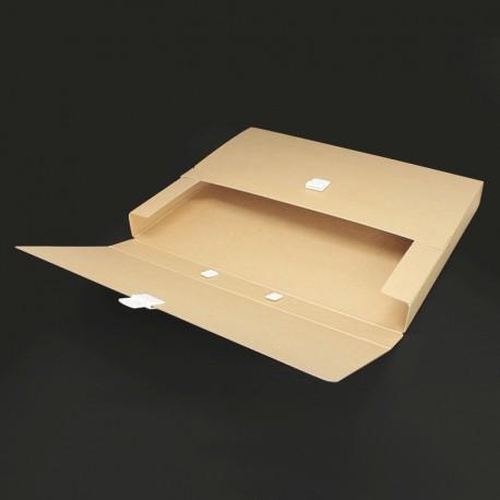 prospektkoffer aus karton DIN-A3, koffer aus Karton DIN-A3, prospektkoffer pappe,