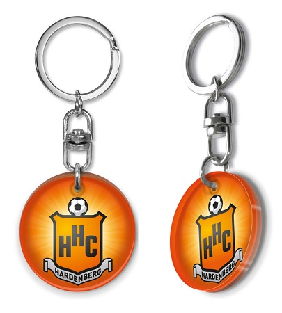 Schlüsselanhänger Plexi-glas, Schlüsselanhänger Sport, Schlüsselanhänger Fußball,